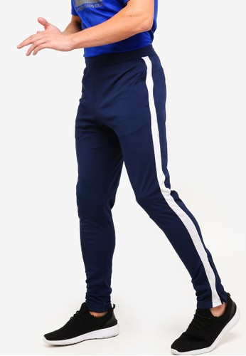 Under Armour navy Sportstyle Pique Track Pants 05C34AA64302BFGS_1