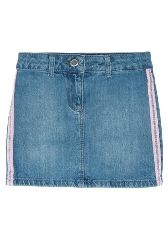 LC Waikiki blue Classic Mini Jeans Skirt 05E5DKA5934D78GS_1