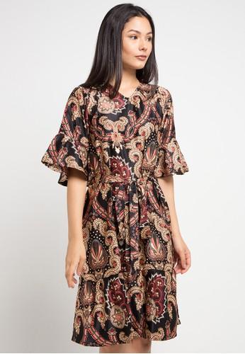 Anakara multi Flaria Dress Makumera A1B78AADDFDF1CGS_1