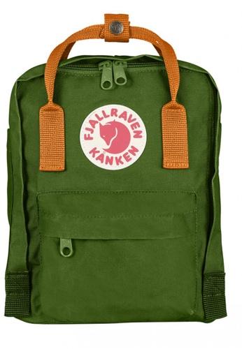 Fjallraven Kanken green Leaf Green-Burnt Orange Kanken Mini Backpack  FJ483AC49MYCHK 1 b83cf83407024
