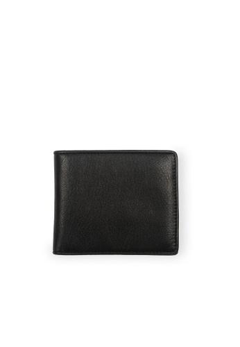 Samuel Ashley black Cayman Bi-fold Wallet (RFID) - Black/Dark Blue 13B64ACF5DF084GS_1