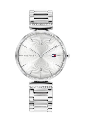Tommy Hilfiger silver Tommy Hilfiger Silver White Sunray  Women's Watch (1782273) 2D5ADACEEEDA0DGS_1