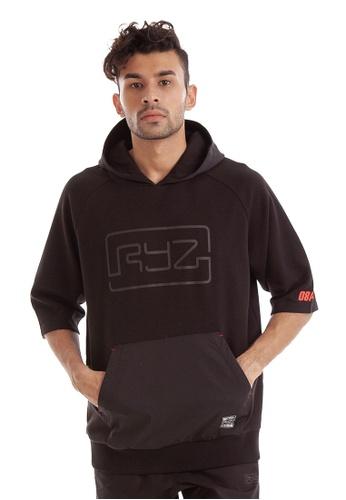 RYZ black RYZ Black Short Sleeve Pullover. 39700AAD5A4962GS_1