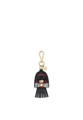SEMBONIA black Dolly Bag Charm 1A9F6ACA84685BGS_1
