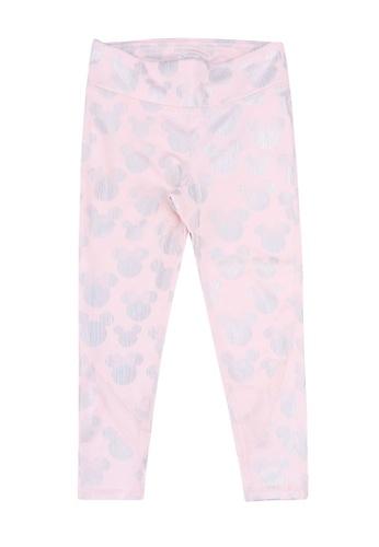 FOX Kids & Baby pink Pink Exercise Leggings 6FE6DKA6A93DC7GS_1