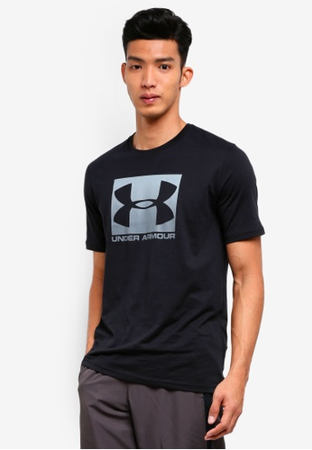 Under Armour black UA Boxed Sportstyle Short Sleeve Tee 2000DAAF455271GS_1