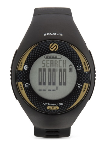 Soleus black GPS Pulse Bluetooth Watch SO231AC32ECTMY_1
