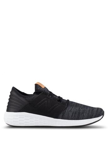 New Balance black and white Cruz Future Sport Knit Pack Shoes 10BCBSHFC43585GS_1
