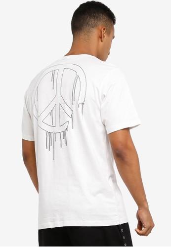 Flesh IMP white Harmony Printed Embroidery T-Shirt 014B1AA57CB7E6GS_1