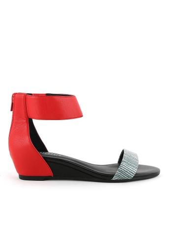Joy & Peace red Ankle Strap Sandals JO458SH79YGUHK_1