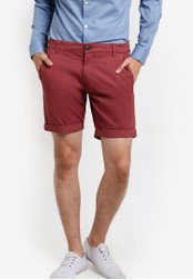 Selected Homme red Chino Shorts SE364AA55EQEMY_1