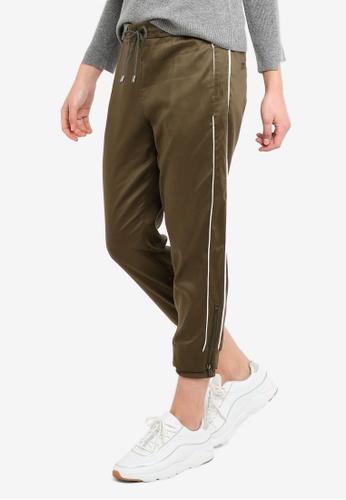 ESPRIT beige Woven Length Service Pants A23B0AA1A3491FGS_1