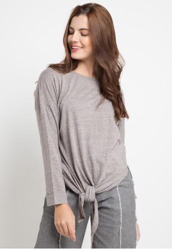 Lois Jeans grey Katun Cvc T-Shirt 331C0AA792F23CGS_1