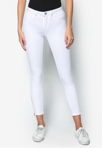 Rihanna 彈性窄管牛仔褲, 服zalora是哪裡的牌子飾, 牛仔褲