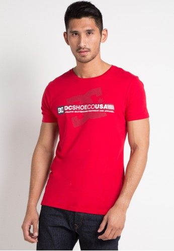 DC red Destroy Advert Short Sleeve A73C8AAD8435CEGS_1