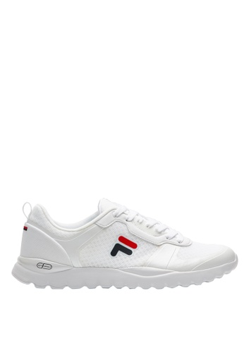 Fila white F LOGO Sports Shoes A14B0SH42F2611GS_1