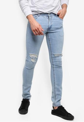 Factorie 藍色 Skinny Leg Denim Jeans 71FDAAAFDC9061GS_1