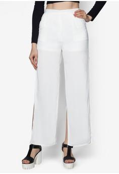 Split Flare Long Pants