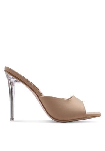 37fe543cc66ad Buy Public Desire Siren Slide On Mule Heels Online on ZALORA Singapore