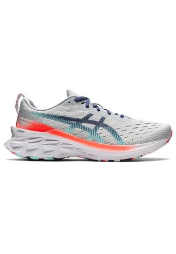 ASICS 拼色 ASICS NOVABLAST 2 跑步鞋 1011B306-960 E03E3SHCE18BA5GS_1