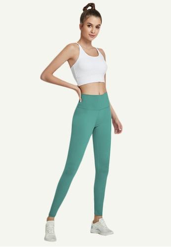 B-Code green ZWG7006Lady Quick Drying Running Fitness Yoga Sports Leggings -Green 2E234AABDEB5E8GS_1