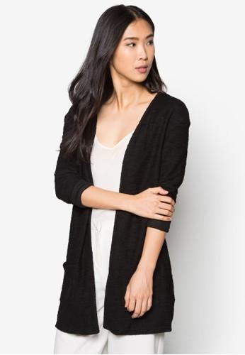 簡約開間長袖外zalora 折扣碼套, 服飾, 毛衣& 針織外套