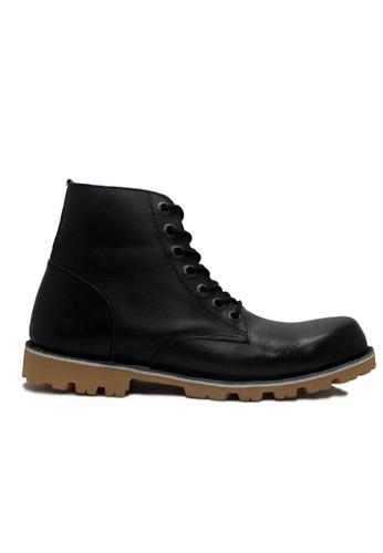 Cut Engineer black Cut Engineer Boots Forcade Safety High Quality Genuine Leather Black CU226SH56HFFID_1