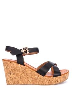 aspetto dettagliato 7fe31 844c8 Shop Open Toe Wedge Sandals Online on ZALORA Philippines