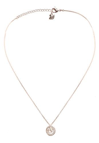 SWAROVSKI gold Generation Small Pendant Necklace E2E04ACF4C5682GS_1