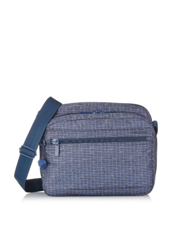 Hedgren blue Hedgren Women Metro Multi Compartment Crossover Bag Winter Craft Print - 4.87L 7C937AC5CA61D6GS_1