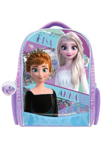 Disney Frozen blue Disney Frozen 2 EVA Holographic Pre-School Bag 8B095KC87EF9B2GS_1