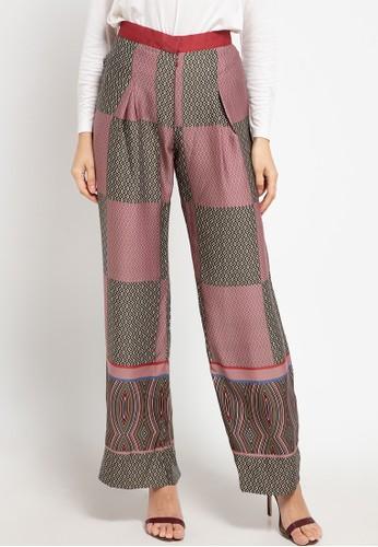 Allea by Itang Yunasz red Ranisya Pants 46505AAC1333C4GS_1