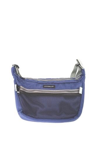 Wanderlust blue Wanderlust Tas Sling Bag Shoulder Bag Frisco Navy Grey 22814AC1C7E60EGS_1