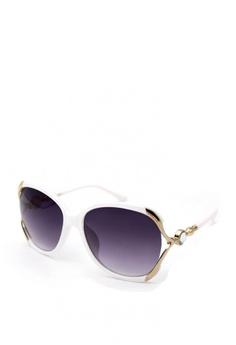 4d0e45b86e Peculiar and Odd white Premium Oversized 6016 Sunglasses Gradient Lens  85E9EGL37EF984GS 1