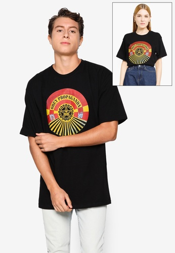 OBEY black Tunnel Vision Tee 9F667AA74F9886GS_1