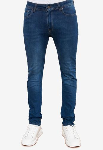 Trendyol blue Skinny Fit Jeans F9436AA76EE649GS_1
