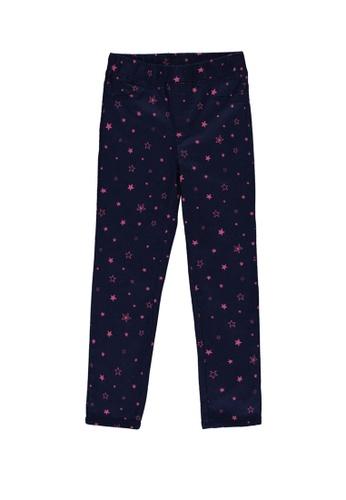 LC Waikiki navy Printed Skinny Trousers 90398KA1CD5759GS_1