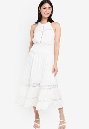 KOTON white Midi Dress C96B9AA04DEEDEGS_1