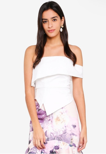 MDSCollections white Origami Flap Top In Ivory 1B8BBAACBF73F3GS_1