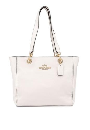 Coach white Jes Tote Bag (cv) 6C418ACD6440B2GS_1