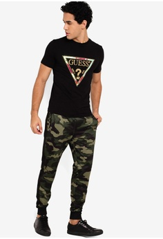 84c031fb 10% OFF Guess Embellished Guess Iconic Triangle Logo Tee S$ 99.00 NOW S$  88.90 Sizes M L XL