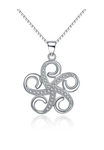 LYCKA silver LPP88098 S925 Silver Necklace 6F7BEACD063598GS_1