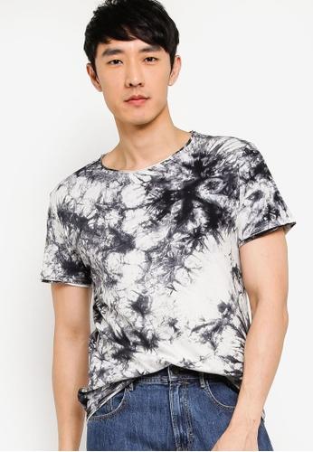 Women's Kitten T-Shirt Size Large Bust 38 Tie Dye