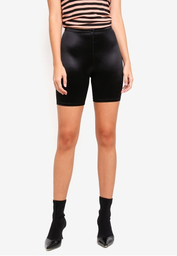 TOPSHOP 黑色 Disco Cycling Shorts 1C242AA4662133GS_1