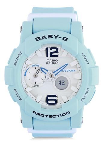 Baby-G blue Casio BABY-G Jam Tangan Wanita - Blue - Resin - BGA-180BE-2BDR E59F9ACD45C003GS_1
