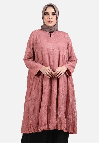 Jual Queensland Tunik Muslim Wanita B10172q Pink Original Zalora Indonesia