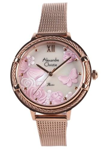 Alexandre Christie gold Alexandre Christie - Jam Tangan Wanita - Rosegold - Stainless Steel Bracelet - 2873LHBRGMS DD803ACC0E9037GS_1