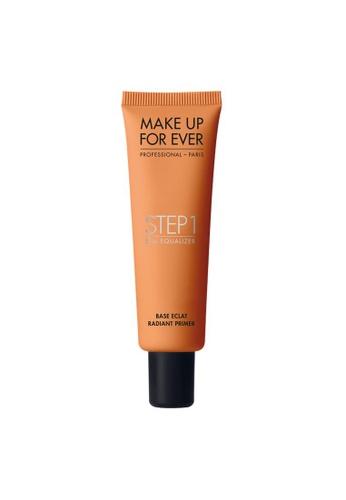 MAKE UP FOR EVER brown STEP1 Skin Equalizer- RADIANT PRIMER CARAMEL 30ML 02767BED43792DGS_1