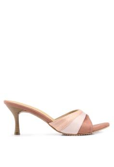 a63260e3d067 Heatwave pink Pleated Mule Heels D3860SH50FF643GS 1