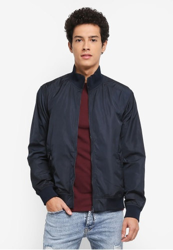 Topman navy Track Jacket DF8E0AADFC173AGS_1